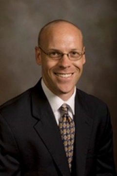 Photo of Tim Howland,  associate director of corporate and foundation relations for the College of Science